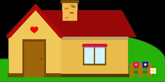 Дом рисунок