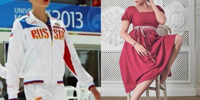 Чемпионка России по плаванию и модель плюс-сайз Евгения Подберёзкина