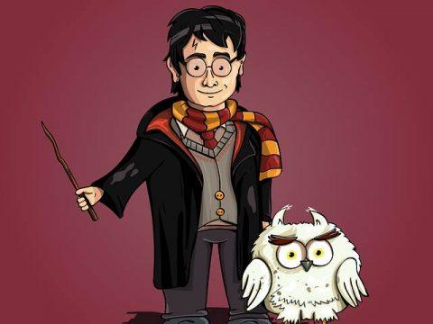 Гарри Поттер рисунок