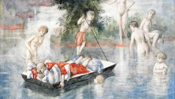 Шведские художники. Gustav Robert Hogfeldt