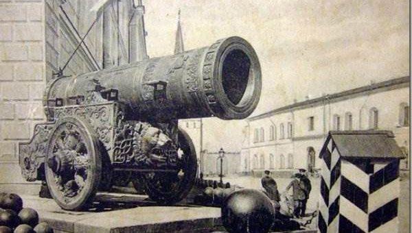 Царь-пушка фото