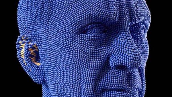 David Mach скульптуры из спичек