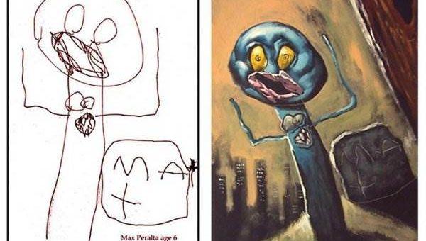 Dave Devries детские рисунки