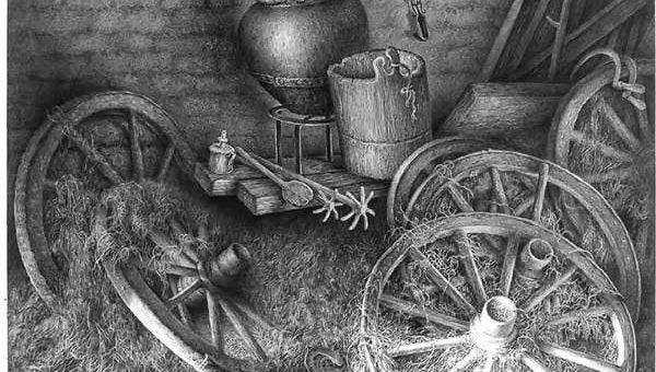 Гурам Доленджашвили рисунки карандашом