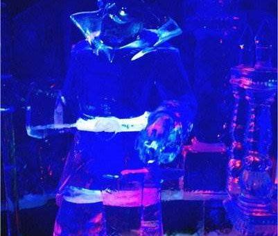 Ледяные скульптуры в Краснопресненском парке