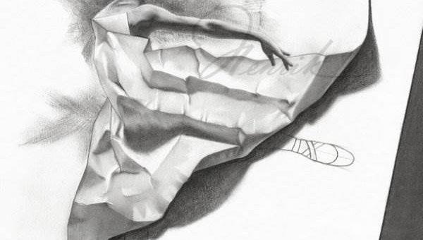Henrik Moses (shimoda7) рисунки карандашом