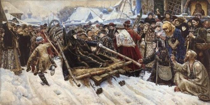 Боярыня Морозова картина Сурикова