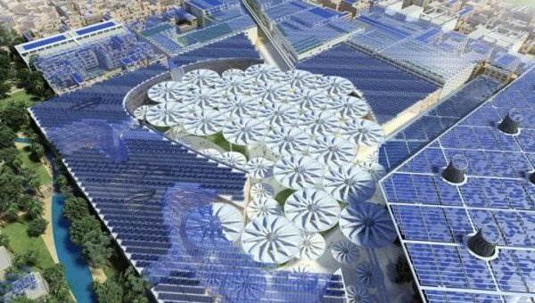 ОАЭ. Масдар - экологически чистый город