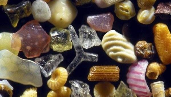 Песок под микроскопом (19 фото)