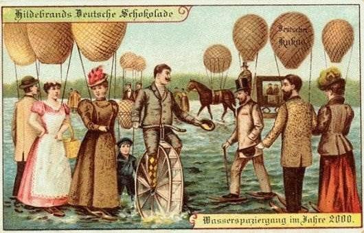 Представления о будущем в 1900 году