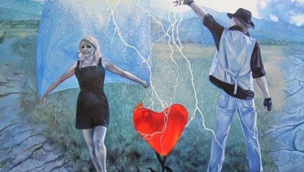 Лиза Рэй художник. Картины маслом