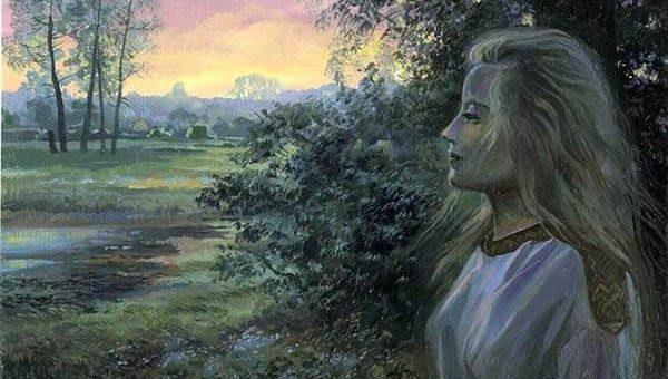 Ольга Нагорная древняя Русь картины