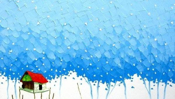 Вьетнамский художник Phan Thu Trang (Мастихиновая живопись)