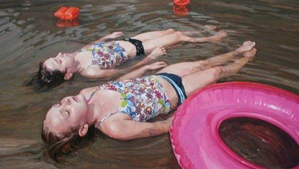 Дети на картинах художника Laura Sanders