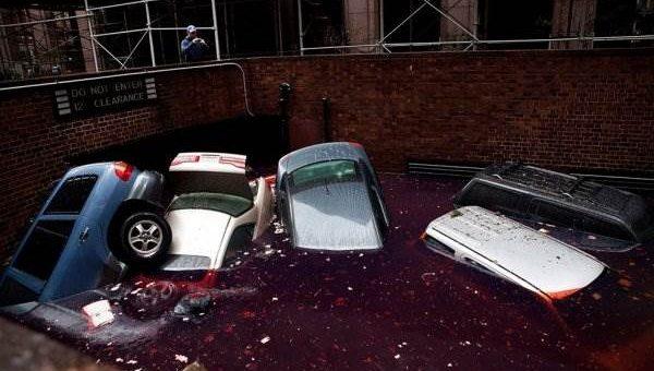Последствия урагана «Сэнди» фото