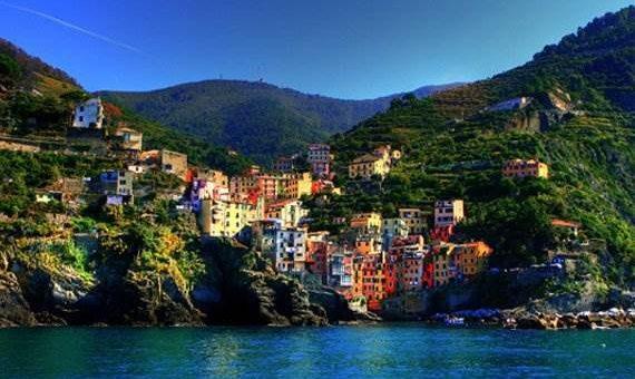 Самые красочные города фото