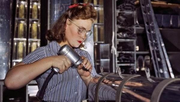 Американские женщины во время Второй Мировой Войны
