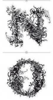 Риккардо Сабатини стилизованные шрифты