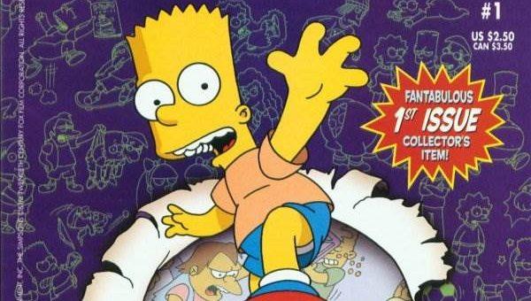 Комикс Барт Симпсон