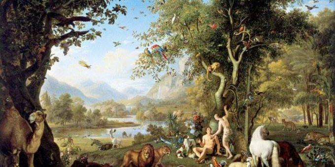 В садах Эдема