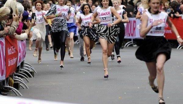 Забег на шпильках Glamour Stiletto Run