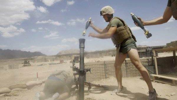 Боевые действия в Афганистане