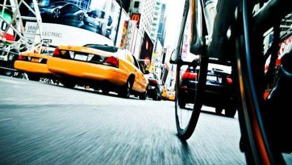 Tom Olesnevich - по Нью-Йорку на велосипеде