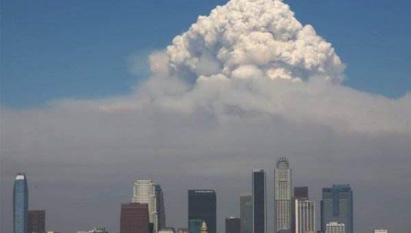 Пожары в Калифорнии (21 фото)