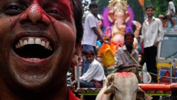 Фестиваль Ганеш Чатуртхи в Индии фото