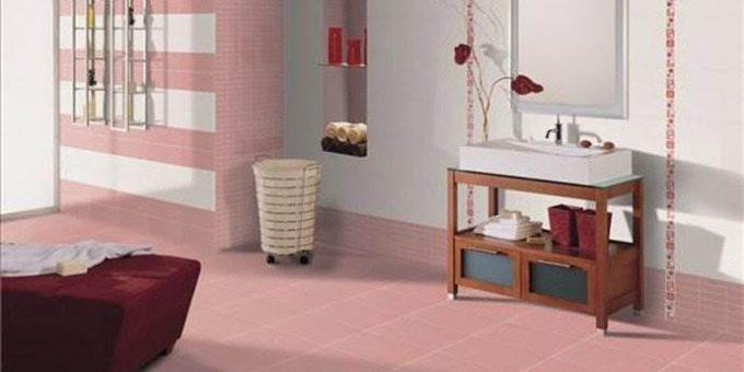 Плитка для ванной из коллекции Fresh. Практичный и насыщенный интерьер