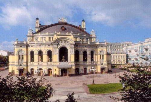 Большой театр красивое фото