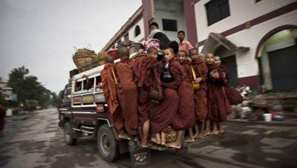 Мьянма обычная жизнь фото