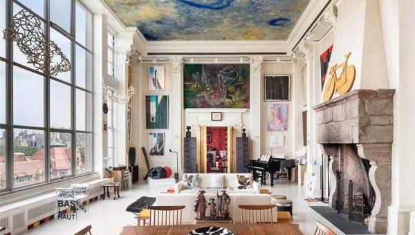 Дизайн квартиры на Манхэттене фото