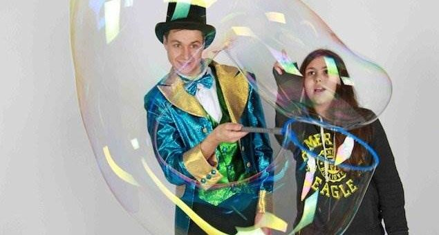 Шоу мыльных пузырей Fancy Bubbles