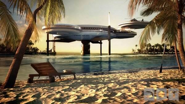Water Discus Hotel - проект подводного отеля в Дубае
