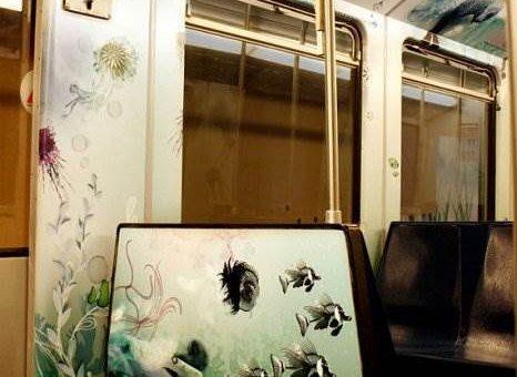 Подводный поезд в Амстердаме. Студия Million Dollar Design