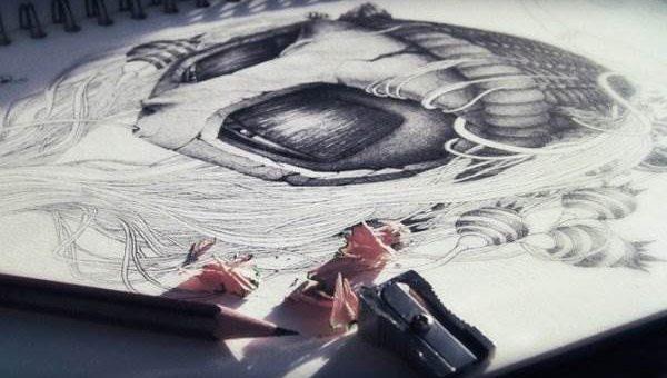 Pierre Yves Riveau (Pez) - Рисунки В Блокноте