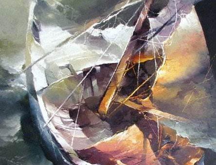 Тайна цвета литовского художника Petras Lukosius
