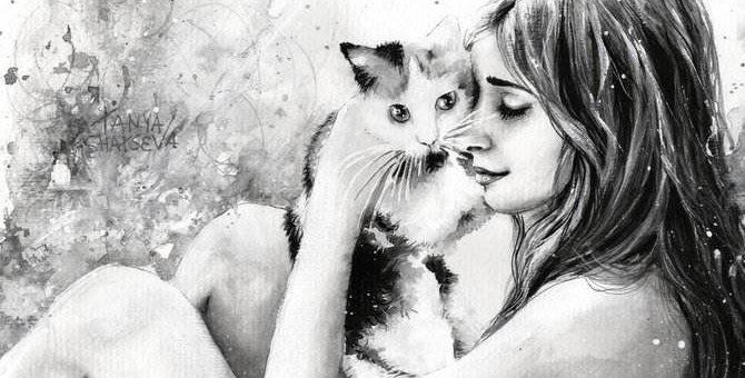 Tanya Shatseva красивые работы художницы