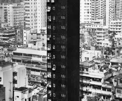 Romain Jacquet-Lagreze фотограф. Серия Гонконг