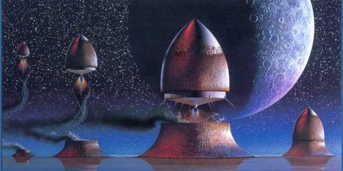 Фэнтези сюрреализм художника Патрика Вудрофа (Patrick Woodroffe)