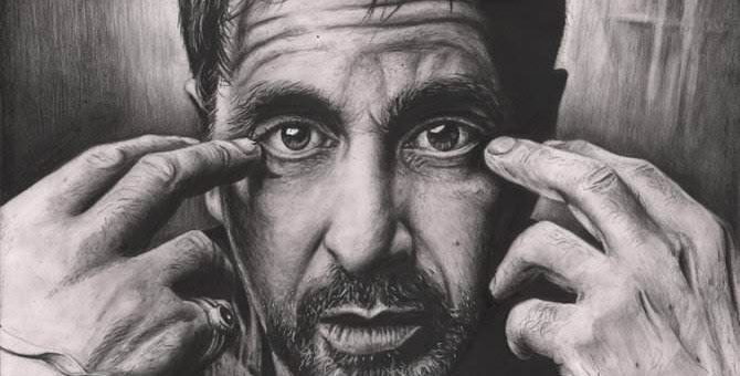 Звёзды кино карандашом Pen-Tacular-Artist