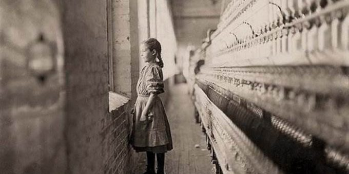 США начало XX века. Американские рабочие. Фото Льюис Хайн