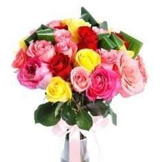 Удобно купить розы с доставкой до дверей