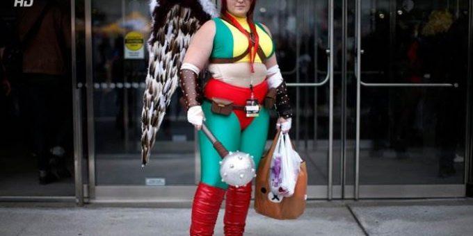Comic Con 2013 в Нью-Йорке