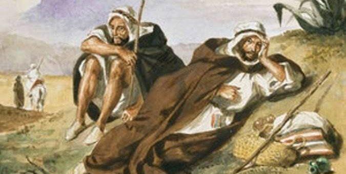 Найдена украденная картина Делакруа - Арабы из Орана