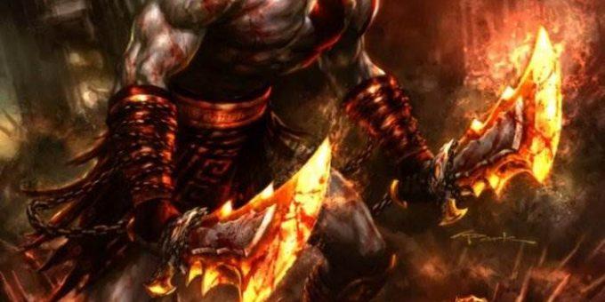 God Of War комикс по знаменитой игре