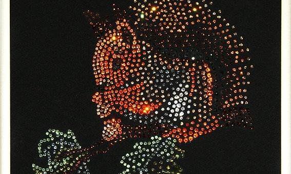Картины со стразами Swarovski – новое слово в искусстве