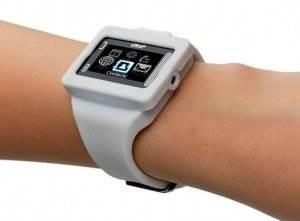 Мобильный наручный телефон-часы