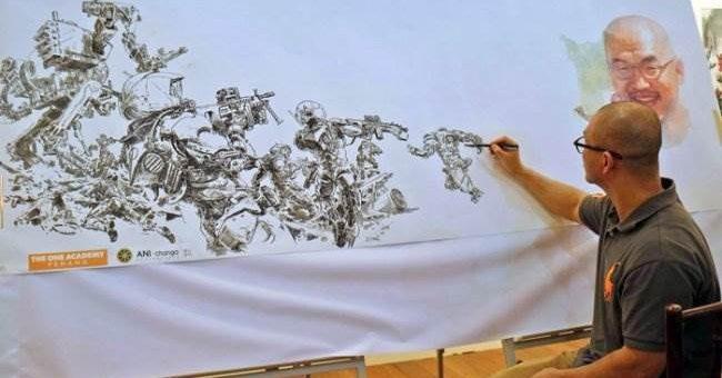 Ким Джунги невероятное мастерство корейского иллюстратора